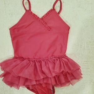 4for$20!! Ballerina bathing suit for baby girl